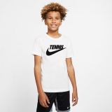 Kinder Tennis T-Shirt Nike Court DriFit CJ7758-101