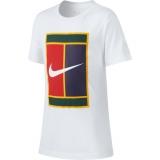 Dětské tréninkové tričko Nike Classic SS Crew AR2367 bílé