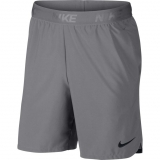 Tennis Kurzehose Nike Court Dry Flex Short 8´´ 886371-027- hell grau