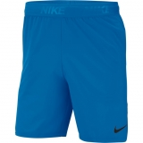 Tennis Kurzehose Nike Court Dry Flex Short 8´´ 886371-484 blau