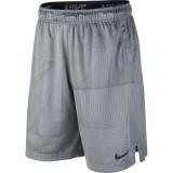 Tennis Kurzehose Nike DriFit Training Shorts 9´´ BV3264-084 grau