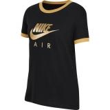 Mädchen T-Shirt Nike Air T-Shirt CI8325-010 schwarz