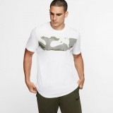 Tennis T-Shirt Nike Trainig T-Shirt  BV7957-100 weiss