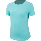 Dívčí tričko Nike Court DriFit T-Shirt AR2348-434 tyrkysové