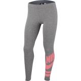 Dívčí legíny Nike Graphic Leggins 939447-091 šedé