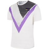 Tennis T-Shirt Nike COURT CHALLENGER AT4235-100 weiss