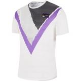 Tenisové tričko Nike COURT CHALLENGER AT4235-100 bílé