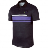 Tennis T-Shirt Nike COURT ADVANTAGE AT4158-045 schwarz