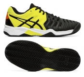 Dětská antuková obuv Asics Gel Resolution 7 Clay GS C800Y-003 černo-žluté