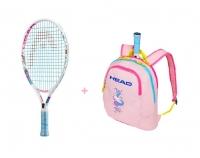 Kinder Tennisschläger Head Maria 19 + Kinderrucksack Head Maria 2019
