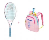 Kinder Tennisschläger Head Maria 23 + Kinderrucksack Head Maria 2019