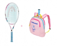 Tenisový set Head 25 - raketa Maria 25 + dětský batoh Maria 2019