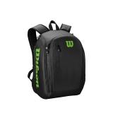 Tenisový batoh Wilson Tour Backpack černo-zelený