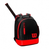 Kinderrucksack Wilson Youth Backpack schwarz-rot