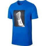 Kinder T-Shirt Nike Rafa Court T-Shirt CJ7757-480 blau