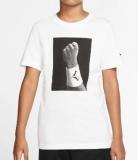 Dětské tričko Nike Rafa Court T-Shirt CJ7757-100 bílé