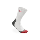 Tenisové ponožky Wilson High-End CREW Sock bílé