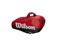 Tennistasche Wilson Team 3 Comp rot