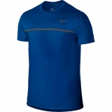 Tennis T-Shirt Nike Challenger Crew T-Shirt 648240-409 blau
