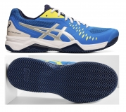 Tenisová obuv Asics Gel Challenger 12 Clay 1041A048-400 modré
