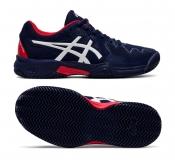 Dětská antuková obuv Asics Gel Resolution 8 Clay GS 1044A019-400 modrá