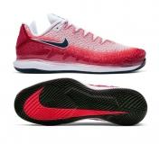 Herren Tennisschuhe Nike Court Air Zoom Vapor X Knit AR0496-600 rot