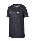 Dětské tenisové tričko Nike Court DriFit Rafa CD2165-103 černé