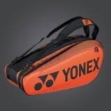 Tenisový bag Yonex Pro 6 série BA92026 oranžový