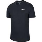 Tennis T-Shirt Nike Court DriFit Challenger T-Shirt BV0766-010 schwarz
