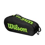 Tenisový bag Wilson Team 2 Comp 2020 černo-zelený