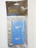 Nike Swoosh Wristbands klein blau -482