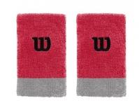 Potítko WILSON Extra Wide W Wristband červené