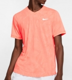 Tennis T-Shirt Nike Court DriFit Challenger T-Shirt BV0766-644 orange