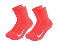 Tenisové ponožky Nike Multiplier Crew Tennis Socks 2 ks SK0118-644 oranžové