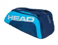 Tenisový bag Head Tour Team 9R Supercombi 2020 modrý