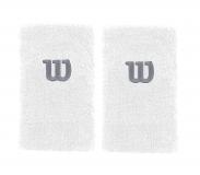 Potítko WILSON Extra Wide W Wristband bílé