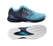 Tenisová obuv Wilson Kaos Comp 2.0 WRS326170 modrá
