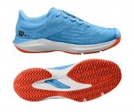 Dětská tenisová obuv Wilson Kaos 3.0 JR WRS326460 modrá