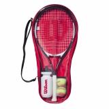 Dětská raketa - tenisový set Wilson Roger Federer Starter Set 25 2020